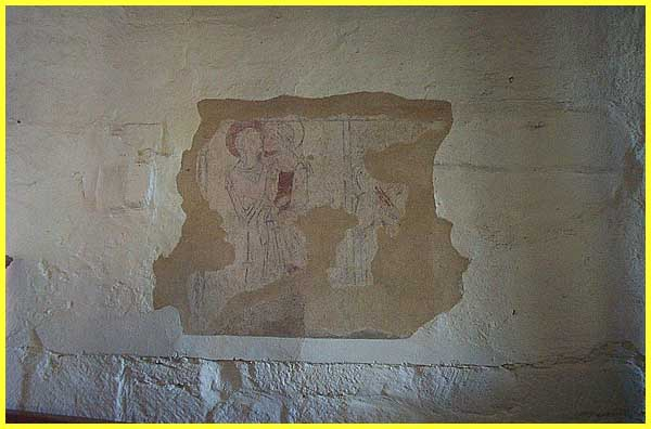 Dale Abbey Wall Painting